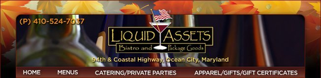 Liquid Assets Tasting Club, Saturday October 29th!