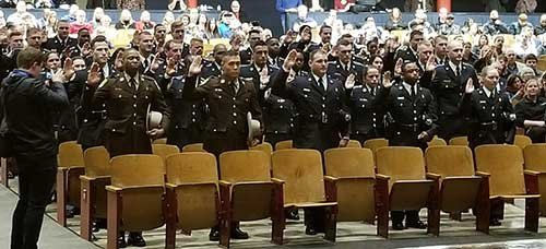 Baltimore County Police Department Swears in the 153rd Recruit Class