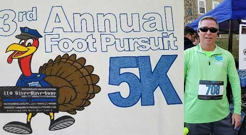 FOP Lodge #4 Sponsors Third Annual Foot Pursuit Race