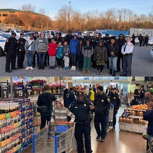 FOP Lodge #4 Members Participate in Annual 'Shop with a Cop' Event