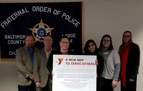 FOP Lodge #4 Partners with the Y of Central Maryland